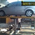 Hidrolik cuci mobil tipe X buatan indonesia