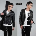 Jaket Kulit Biker Korean Style kode SK-19