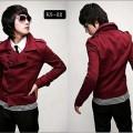 Red Korean Style Jacket