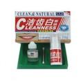 gigi putih bersinar cleaness natural obat pemitih gigi