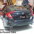 Harga Honda Civic Hatchback Turbo lebih murah dari type sebelumnya.