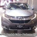PROMO GIIAS 2018 All New Honda CR-V Kini Berkapasitas 7 Penumpang dgn mesin Turbo.