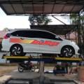 Paket Usaha Cuci Mobil 3 Hidrolik tipe H-Track