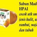 sabun honey madu transparan soap herbal alami natural