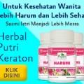 harumi jamu herbal obat organ kewanitaan keputihan bau badan jamur dll