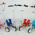 Scooter 2 Pedal besi 3 Roda harga murah praktis tdk melelahkan