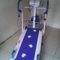 Treadmill Manual 6 in1 Treadmil jalan lari Penurun Berat Badan Like Jaco Aibi