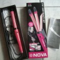 Catokan Nova 2 Fungsi Pelurus & Keriting Rambut Like Philip Panasonic Termurah