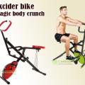 Excider Bike Exbike 2in1 Body crunch Horse Rider Sepeda Fitnes Gym Olahraga Di Rumah Bisa Di Lipat