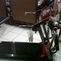 Treadmill Electrik 3in1 Alat Fitnes Gym Olahraga Lari Membakar Lemak Tubuh Harga Termurah