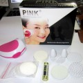 Pink Skinner Beauty Set Alat Pembersih Jaco Wajah Make Up Cleansing Termurah