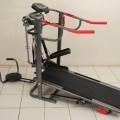 Alat Olahraga Jogging Track 6in1 Treadmill Manual Papan Lari Pelangsing Shaga