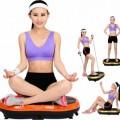 Crazy Fit Vibration Plate Alat Olahraga Fitness Yoga Jaco Pelangsing Ultra Thin Terbaik