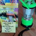 Lentera multifungsi emergency mtisuyama + lampu disco + power bank