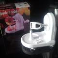 alat mesin pengupas buah buahan ( apple peeler )