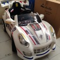 Mobil Aki Porsche TR 1201A Putih