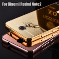 XIAOMI REDMI NOTE 2 CASING  MIRROR CASE ALUMINIUM METAL KACA NOT IPACKY