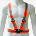 rompi karet orange,safety vest rubber reflective elastic V shape