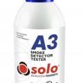 smoke detector tester testing Solo A3,test cek asap