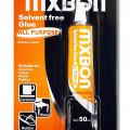 Mxbon fabric glue solvent free,Lem kain 20Ml transparan