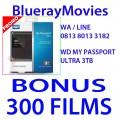 WD My Passport Ultra 3TB Bonus isi 300 Films BluRay 720p