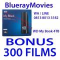Jual WD My Book 2TB,3TB,4TB isi Film