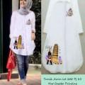 Baju Muslim Cantik Terbaru Gamis Tunik 2016 Sku 0001