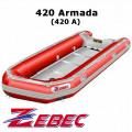 Sale Perahu Karet Merk Zebec 420A Armada # Berkualitas