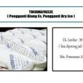 kegunaan thermafreeze Alat pendingin Sayur,