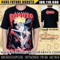 Kaos Future Uzumaki Boruto - Anime Distro Surabaya