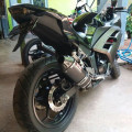 Ninja 250Fi 2015 black matte