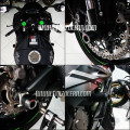 Front and rear axle slider agna inspire ZX10R