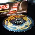 Gear Set SSS Equinox Rear Gear Ninja 250R 250Fi Z250