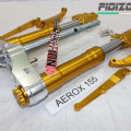 upside down Nui Project Double Disc yamaha aerox 155 gold  0 Ulasan
