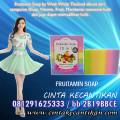 FRUITAMIN SOAP SABUN PEMUTIH tubuh /www.cintakecantikan.com / 081291625333