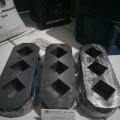 Jual Cetakan Mortar - Cement Cube Mold 5x5x5cm Presisi hub 081288802734