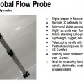 GLOBAL WATER FP111 Portable Flow Probe Call 081288802734
