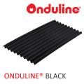 ATAP ONDULINE WRN HITAM (2000x95x3 mm) - FREE SEKRUP 14 PCS