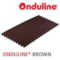 ATAP ONDULINE WRN COKLAT (2000x95x3 mm) - FREE SEKRUP 14 PCS