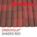 GENTENG ONDUVILLA WRN SHADED RED (1060 x 40 MM) - FREE SEKRUP 5 PCS