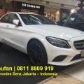 Promo Terbaru Mercedes Benz C200 Avantgarde Putih 2019