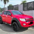 Ford Ranger Double Cabin 2.2 XLT Thn 2014 Warna Merah ISTIMEWA