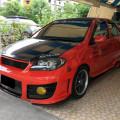 Toyota Vios G 1.5cc Thn 2005 Warna Merah Modif Istimewa