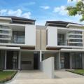Rumah Berkonsep Modern dengan fasilitas kolam renang SIAP HUNI di bandung