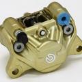 kaliper belakang brembo 2 piston original italy gold