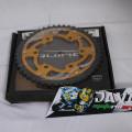 Gear belakang Equinox Gold Ninja 250 fi
