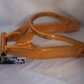 Swingarm new Delkevic Ninja 250 gold