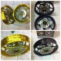 Velg Axio R15 Triple disc / double disc depan dan single disc belakng uk 4,5-3,0 inch