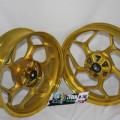 Velg Axio gold Yamaha Vixion,NVL,R15 4,5-3 inch