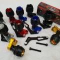 frame slider kenalpot black daimond motor nmax, xmax, aerox
